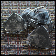 Resin Tones Gypsy - Smoke - 1 Guitar Pick | Timber Tones